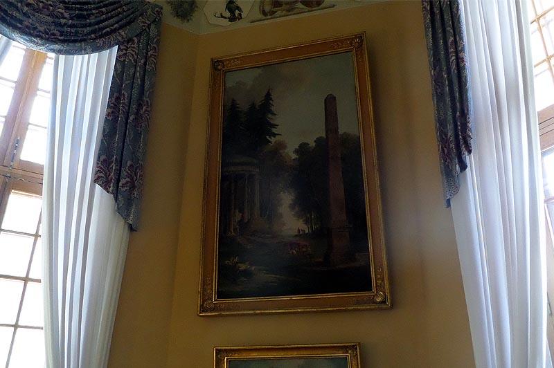 обелиск с картины юбера робера