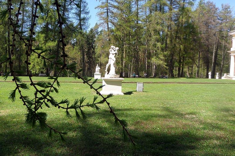 парк территория усадьбы архангельское