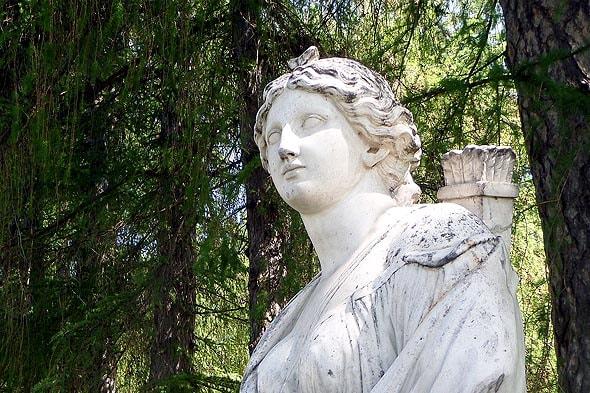 парковая скульптура усадьбы архангельское