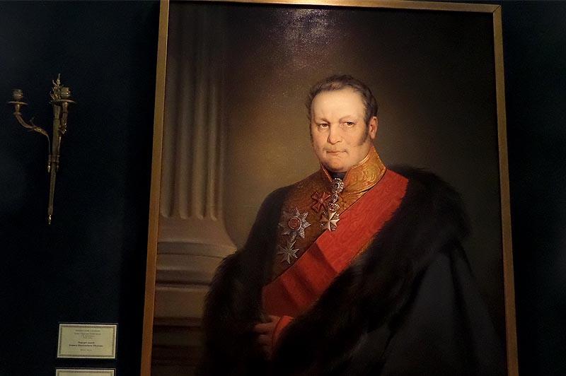 Портрет бориса николаевича юсупова в камергерском мундире
