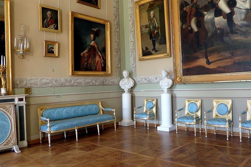 портреты в императорском зале коллекция князя николая борисовича юсупова