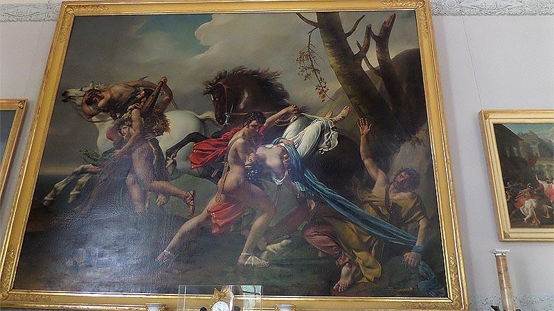 развеска картин архангельское музей усадьба юсуповых