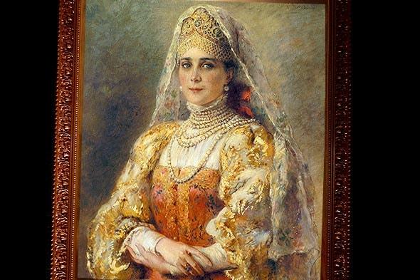 зинаида николаевна юсупова предстает русской красавицей на картине маковского