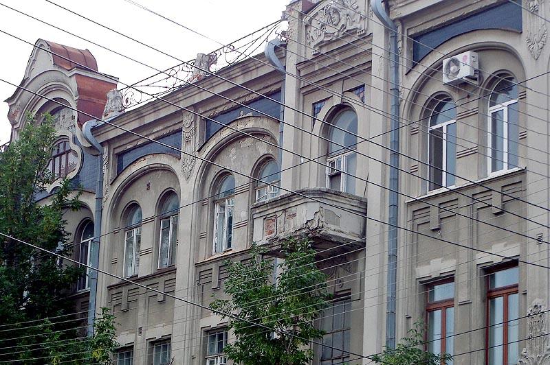 глазурованная плитка доходный дом ананьева саратов