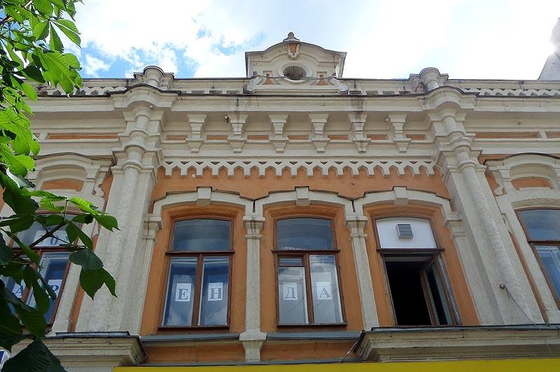 зрелище прелюбопытнейшее фасад старинного здания