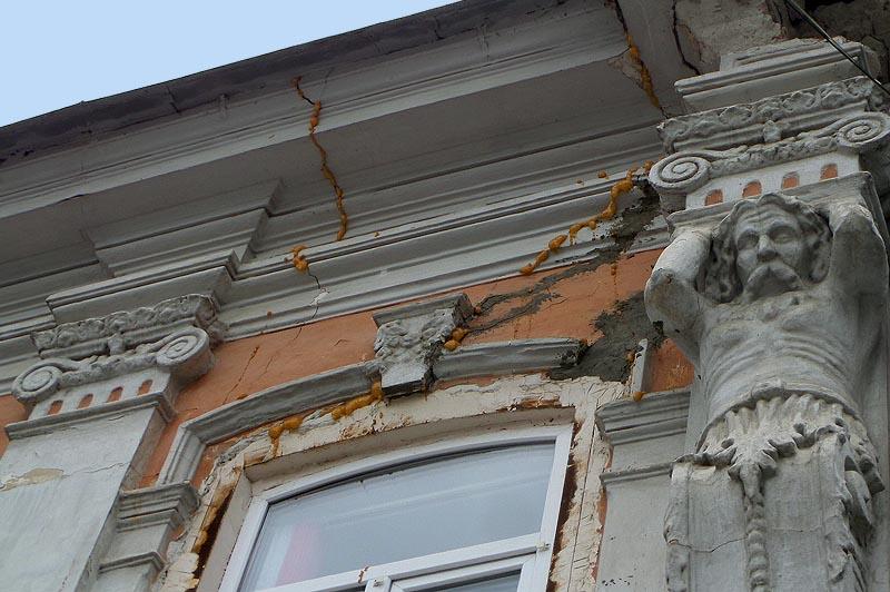 фасадный декор ведет свои корни из древнего мира