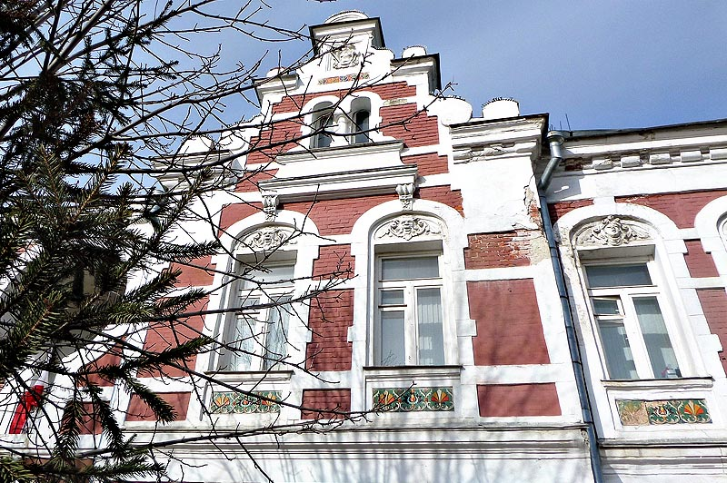 фрагмент дома архитектора зыбина саратов