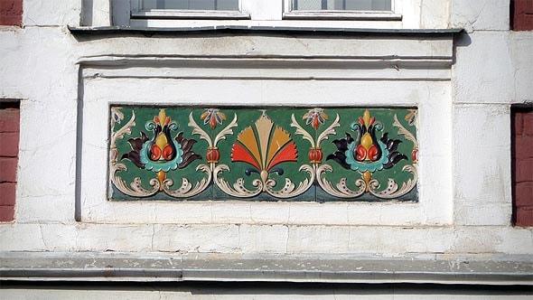 керамические объемные вставки дом зыбина саратов