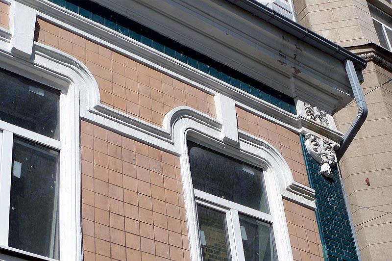 плитка на фасаде дома купца красовского