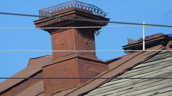 труба на крыше провиантских складов рейнеке саратов