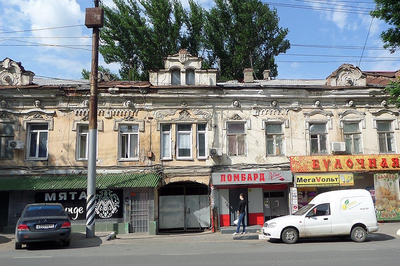 доходный дом лисунова саратов