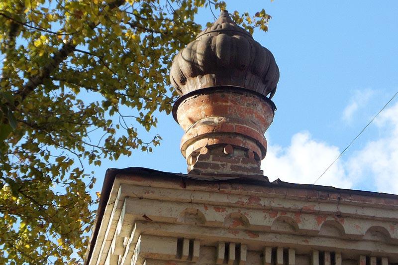 купол в мавританском стиле на доме тилло саратов