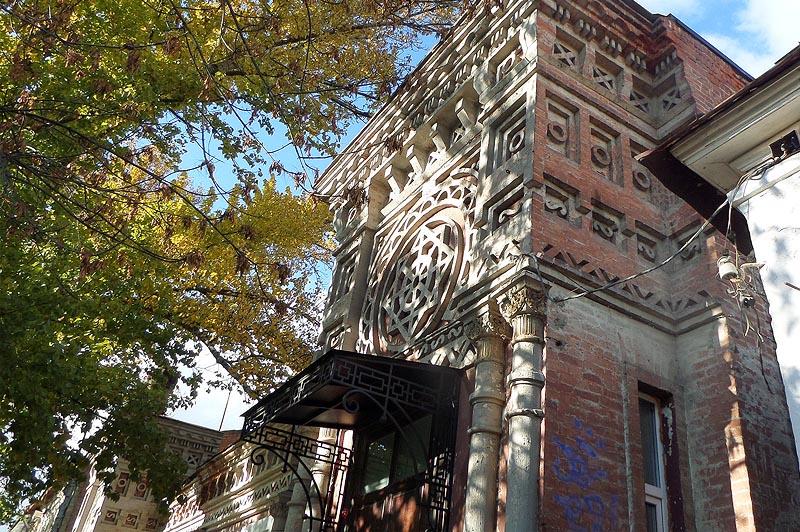 необыкновенный дом адольфа тилло саратов