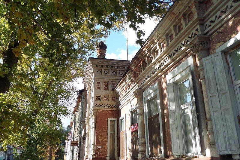 дом в мавританском стиле саратов