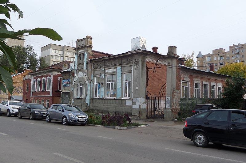 дом дыбова с кувшинками саратов