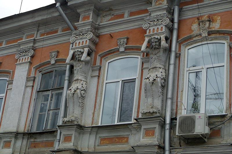атланты с дома рейнценштейна саратов