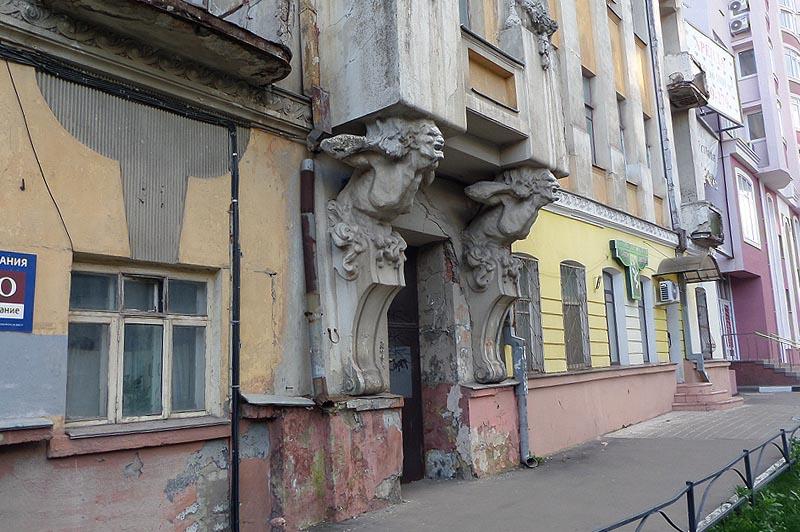 дом с кариатидами инженера яхимовича саратов