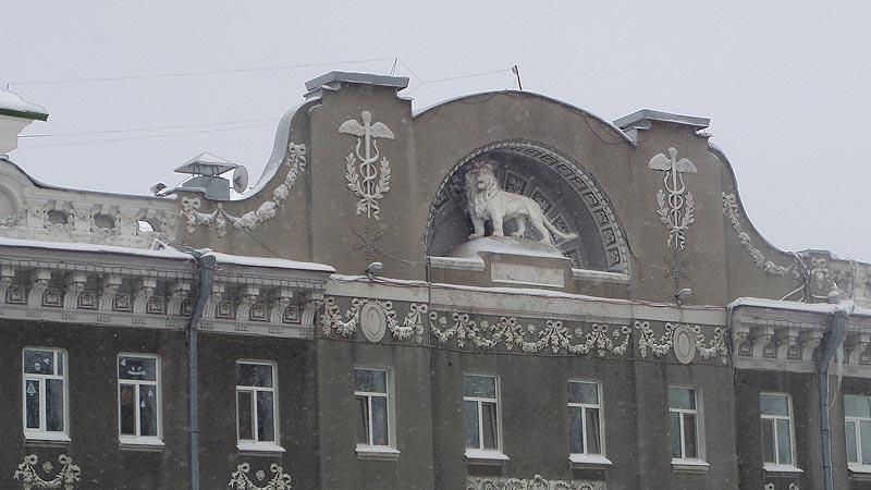 главный лев города саратов