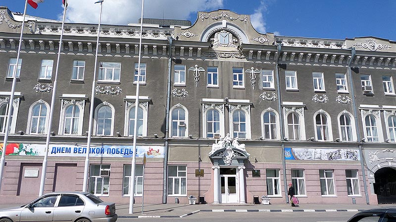 саратов бывший торговый дом андрея бендера