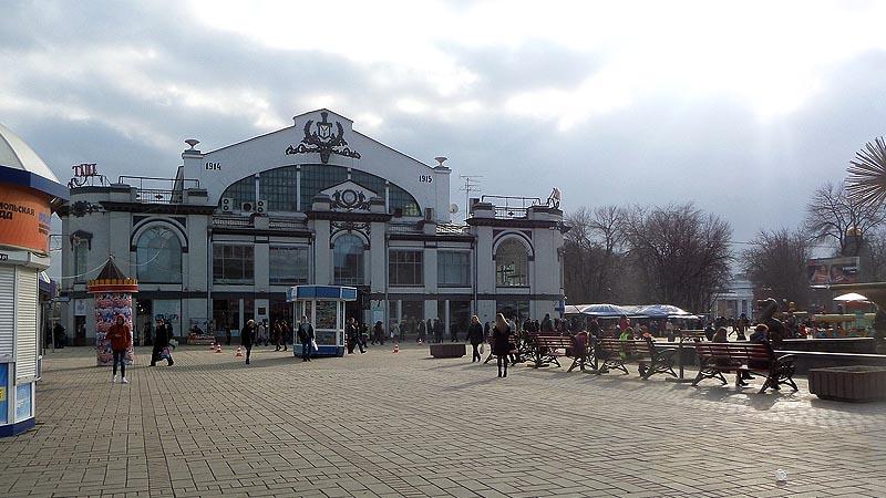 здание крытого рынка саратов