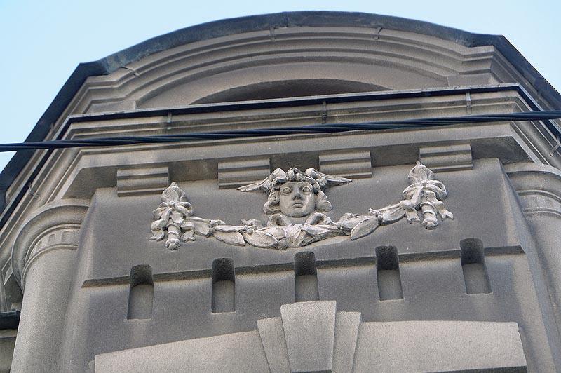 меркурий на фасаде доходный дом смирнова саратов