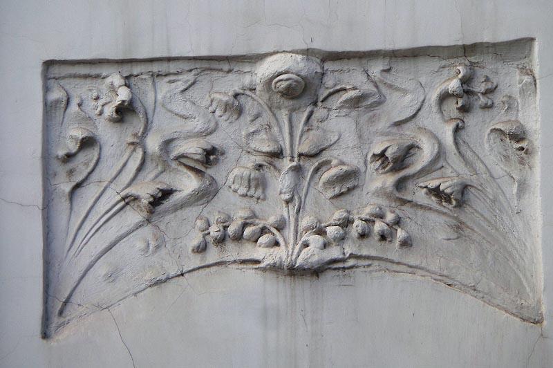 барельефы особняка бореля саратов
