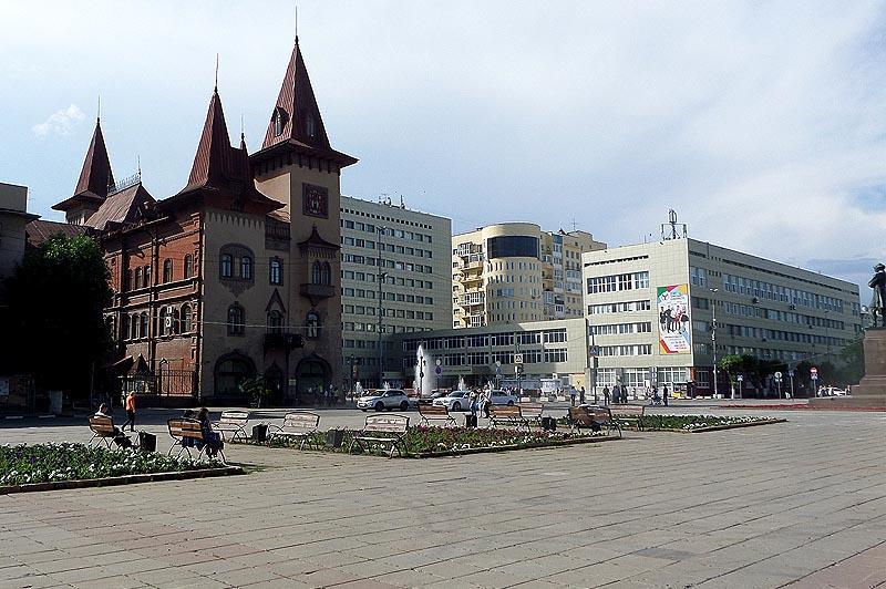 исторический центр саратов