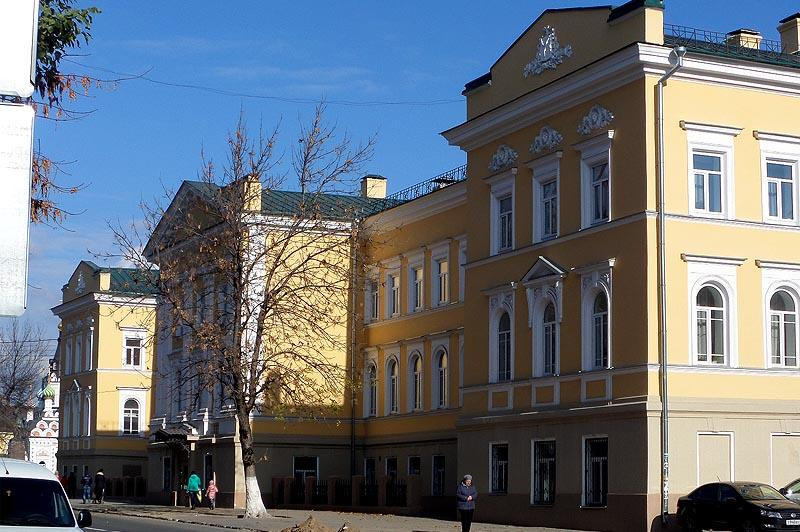 здание губернской канцелярии саратов