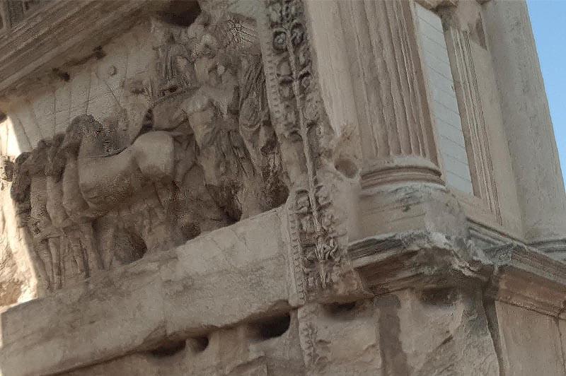 документа от колизея триумфальная арка в честь победы императора тита в иудее