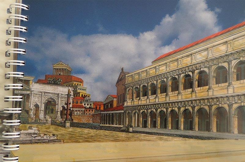 здание базилики эмилия