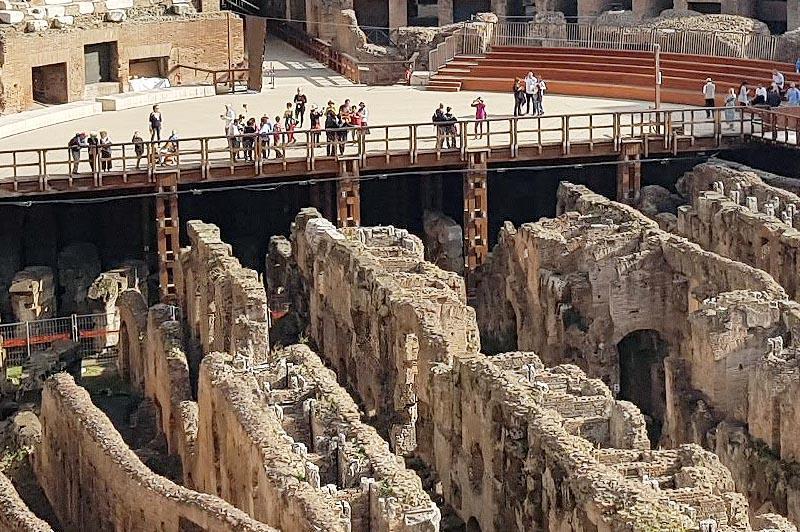гипогей подземная структура колизея