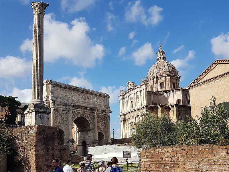 памятная колонна византийского императора фоки