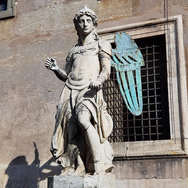 архангел михаил в замке святого ангела рим