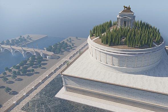 башня императора адриана