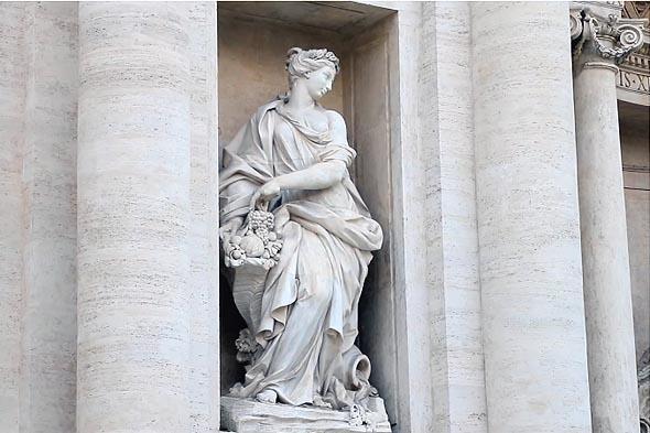 богиня изобилия иллюстрирует качество источника воды