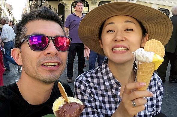 мороженое тает не забывайте облизывать сладкую горку