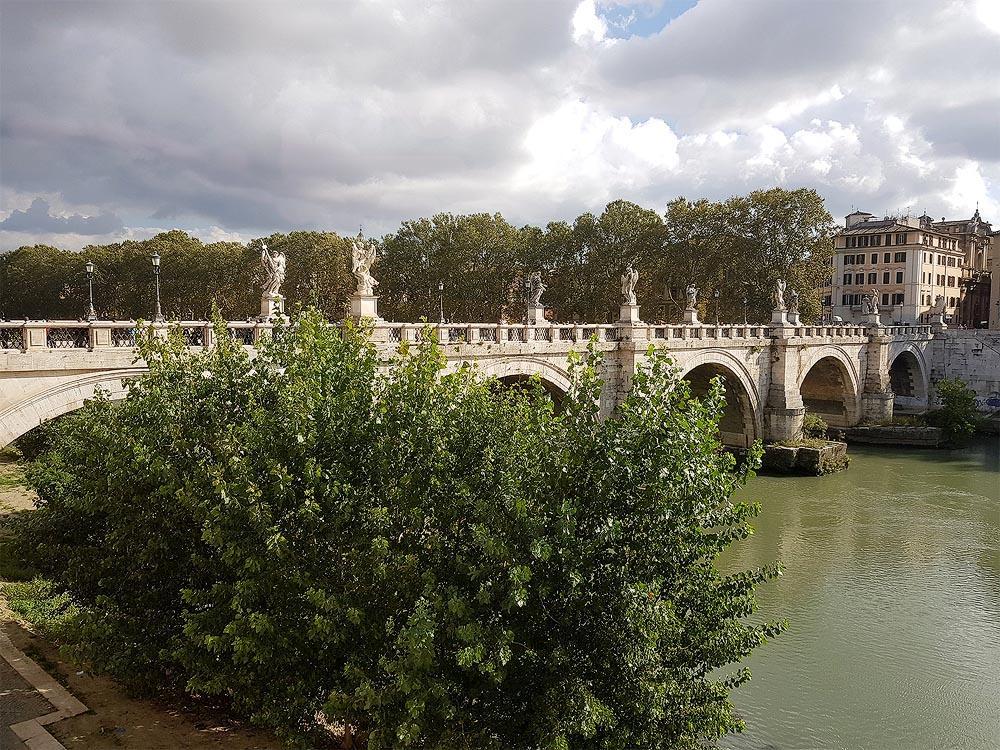 бывший мост элий а теперь мост сант анжело