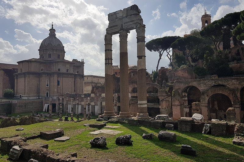 форум сердце римской империи