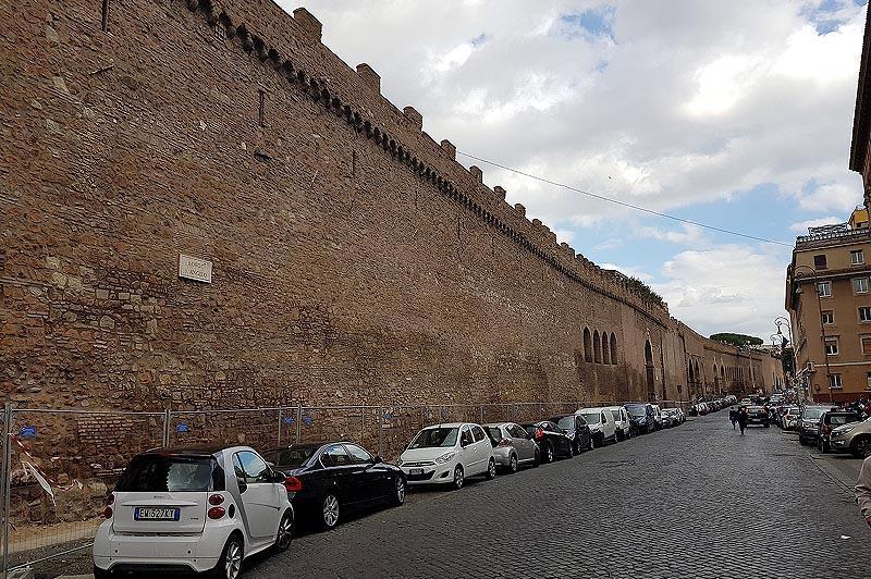 секретный коридор вел к замку сант анджело