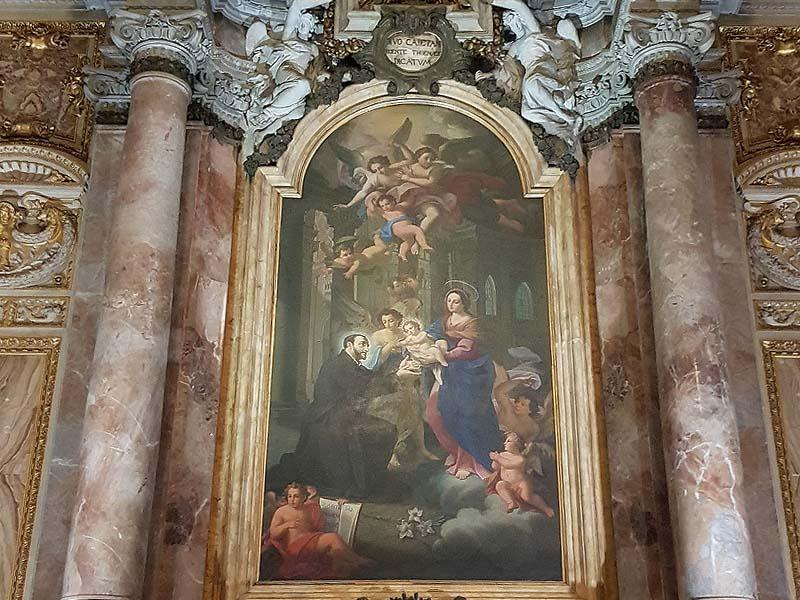 алтарь святого каэтана одного из основатель ордена театинцев