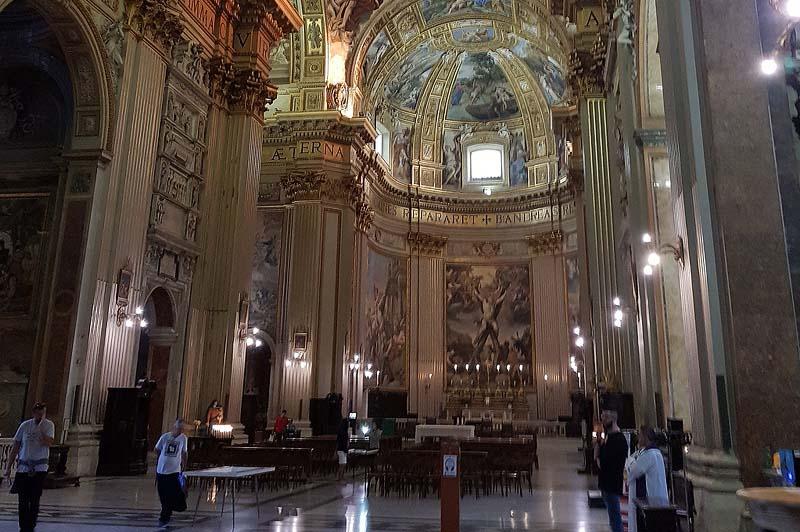 апсида базилики сант андреа делла валле