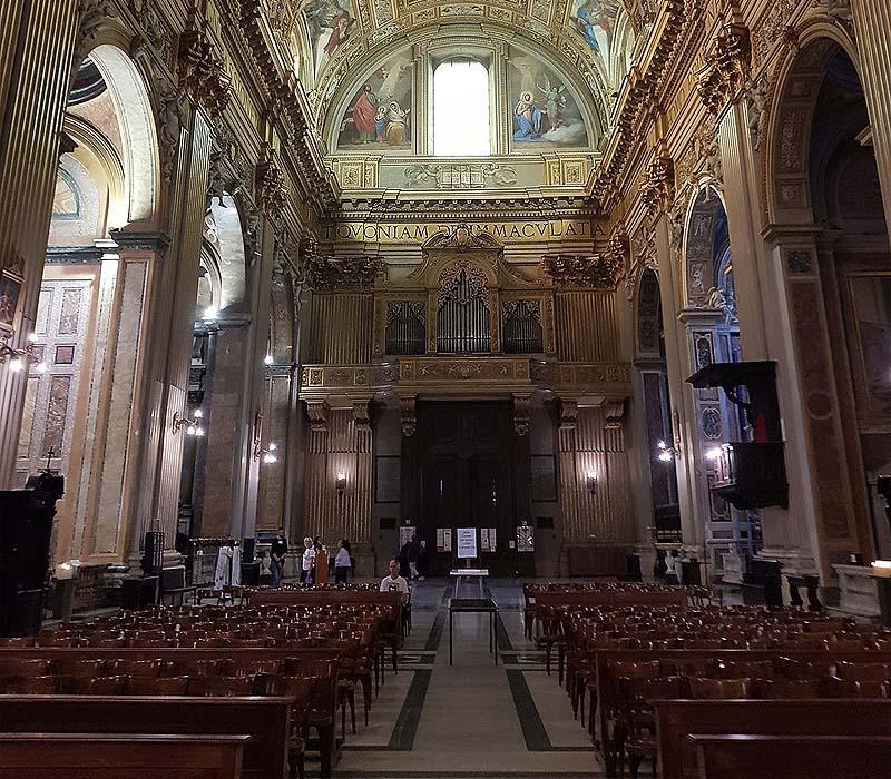 сант андреа делла валле  базилика театинцев