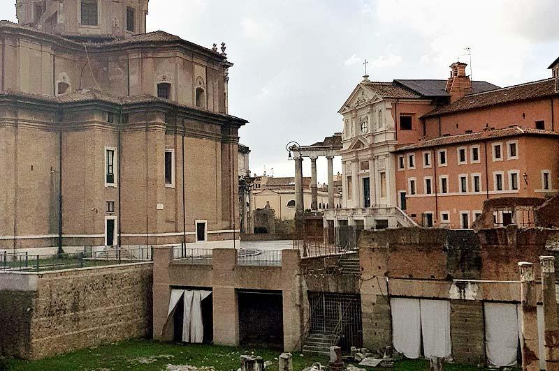 рим мамертинская тюрьма