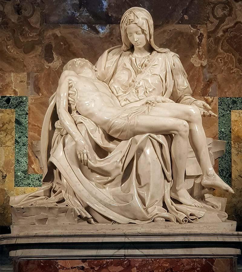 скульптура микеланджело пьета