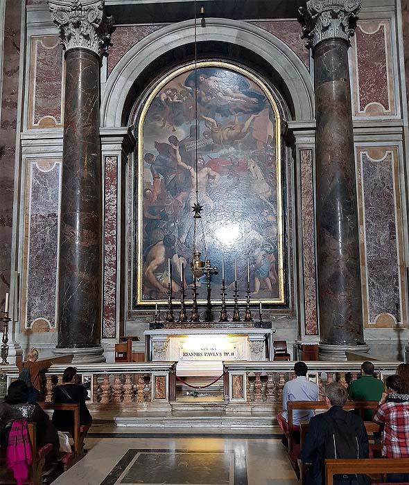 мозаичные шедеврам в соборе святого петра