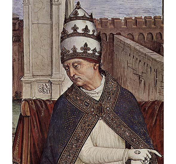 на папский трон эней сильвио пикколомини вступил как пий второй