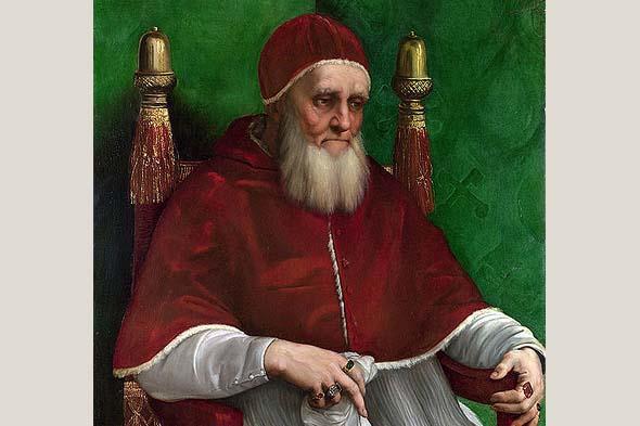 папа строитель неутомимый юлий второй