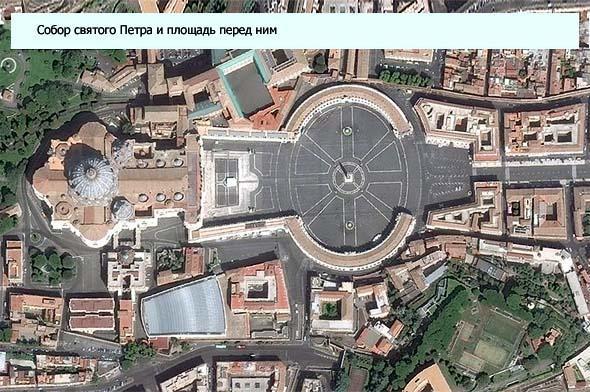 как образована площадь перед собором