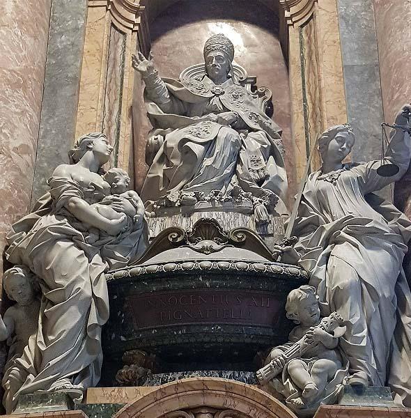 мраморные скульптуры в соборе святого петра рим