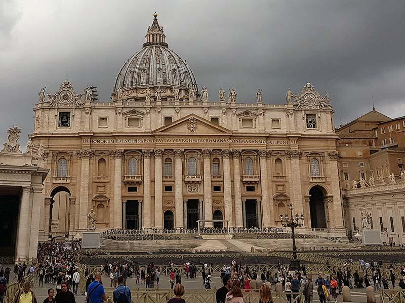 ватикан здание собора святого петра